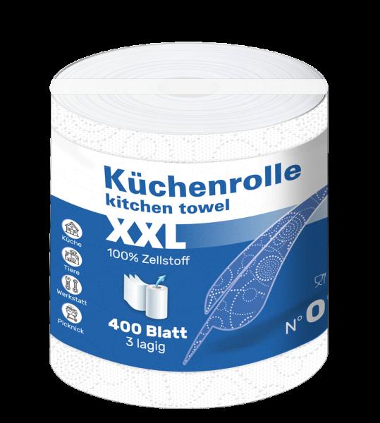 Küchenrollen XXL 3 lagig Zellstoff 400 Blatt Palette