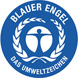 Papierhandt</SPAN>ücher mit Blauer Engel