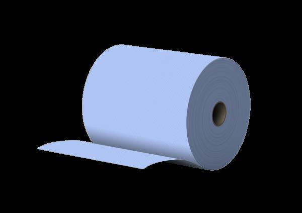 Putzpapier 2 lagig BLAU recycling 22x37cm MUSTER