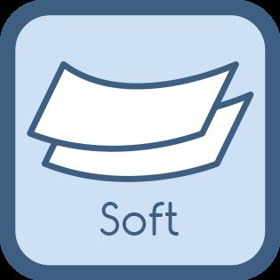 Toilettenpapier 2 lagig soft und elastisch