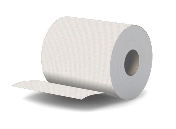 Handtuchrolle 1 lagig weiß 275m Breite 19cm Innenauszug + Außenabw. Palette
