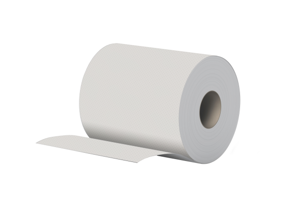 Handtuchrolle 2 lagig recycling 143m 650 Blatt 6cm Hülse Innenauszug + Außenabw. Palette