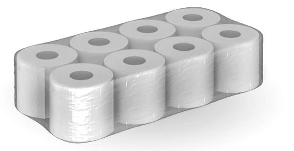 Toilettenpapier 3 lagig 100% recycling 200 Blatt MUSTER