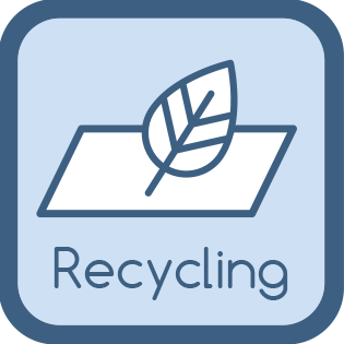Toilettenpapier 2 lagig recycling mit Sekundärfasern