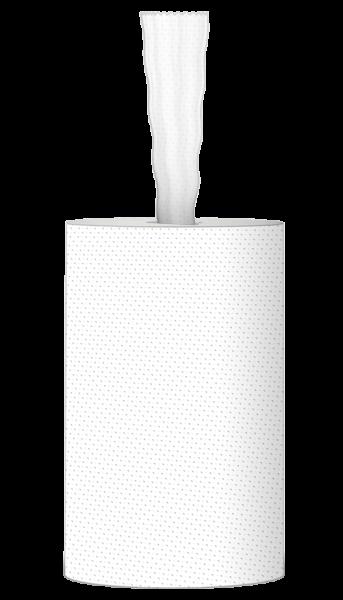 Handtuchrolle 1 lagig Zellstoff 120m 428 Abrisse Innenauszug / ohne Hülse Palette