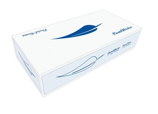Kosmetikbox / Kosmetiktücher 100 Blatt in der Box Karton