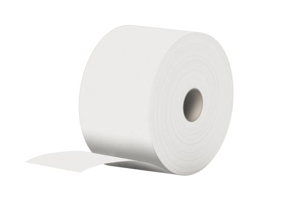 Putzpapier weiß 2 lagig recycling 22x37cm 1500 Abrisse pro Rolle Palette