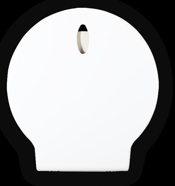 Jumborollenspender Weiß Ø 30cm